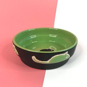 Pets Cat Dog Round Mouse Bowl